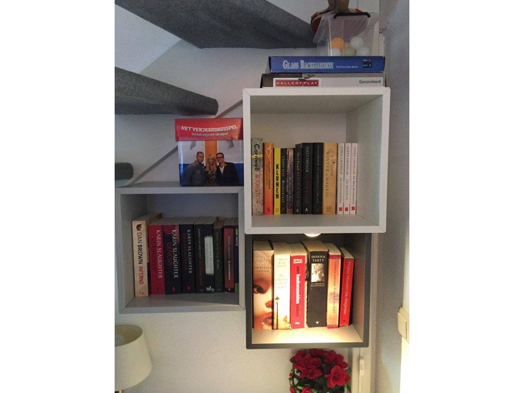 petite bibliothèque, jeux inclus